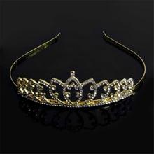 Vintage Wedding Bride Crystal Headband Crown Tiara Hair Accessories Jewelry Prom-Y094