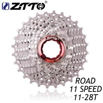 ZTTO carretera bicicleta piezas de bicicleta 11 22 s velocidad de rueda libre Cassette piñón 11-28 t Compatible para piezas 105 de 5800 UT 6800 DA 9100