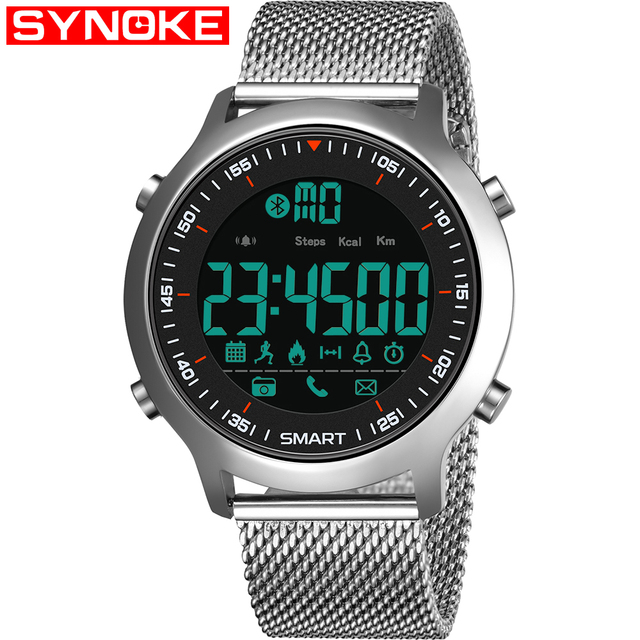 Bluetooth Clock Male Smart Watch 1