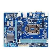 H61m-s1 h61 DDR3 16GB Desktop motherboard i3 2120 g620 g550 all solid vga