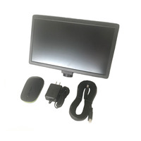 11,6 экран все в одном планшетный компьютер с HDMI USB промышленных цифровой микроскоп с камерой монитор для Тринокулярный iphone ремонт печатной п