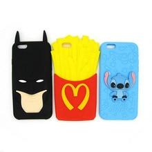 Batman Rubber Soft Case for iPhone (3 Designs)
