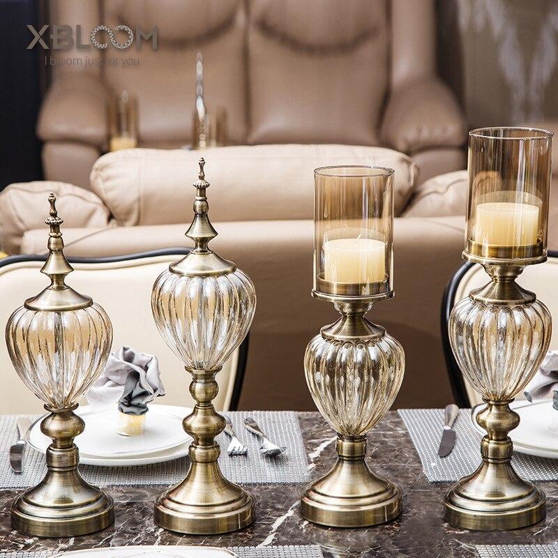 Décoration de table bougie modèle néo-classique | Bougie décorative de luxe pour mariage, décoration d'amour romantique pour la maison