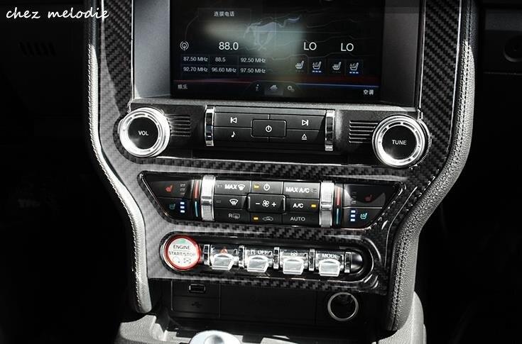 Augstākās kvalitātes īstais oglekļa šķiedras automobilis - Auto salona piederumi