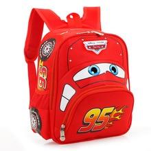 New 2017 Hot Sale Children Backpack Cartoon Car Boys School Bags Mochilas Infantil Kids Satchel Kindergarten