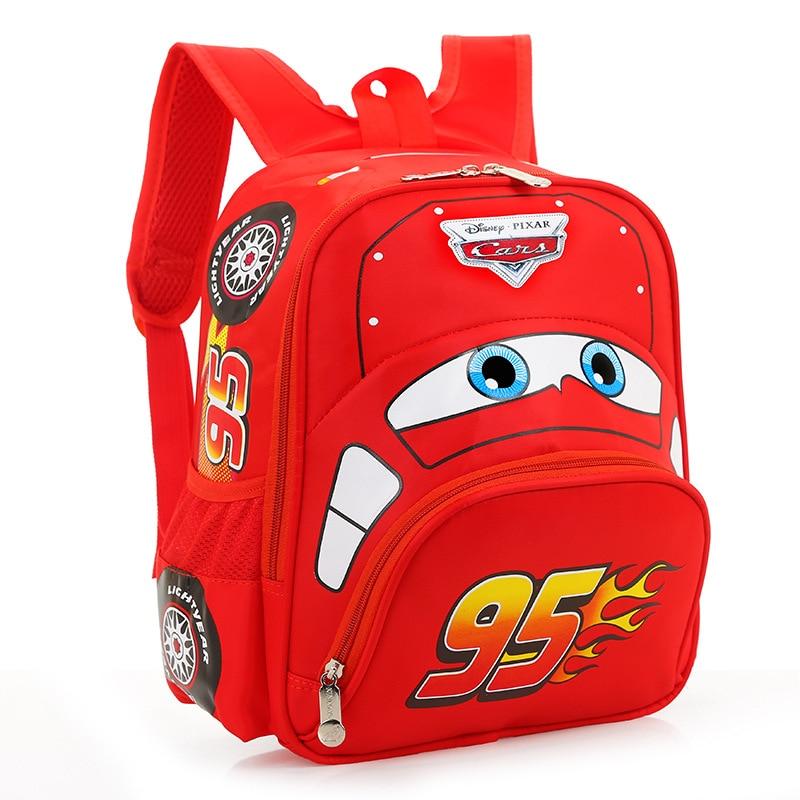 New 2017 Hot Sale Children font b Backpack b font Cartoon Car Boys School Bags Mochilas