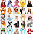 Children Kid Unisex Pajamas Cosplay Costume Animal Onesie Sleepwear Dinosaur Donkey Owl Cow Pikachu Frog Bear Shark