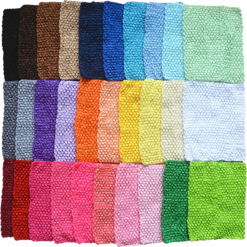 Wholesale 9 Inch Tutu Crochet Tube Top Kids Stretch Colored Tutu