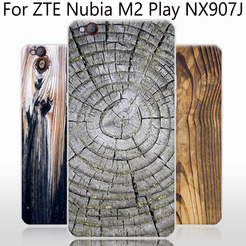 sale retailer 04ccc e22cd US $8.25 8% OFF|Wood grain phone cases For Nubia M2 Play case soft back  cover For Nubia M2Play case For ZTE Nubia M 2 Play NX907J shell cover-in  Phone ...