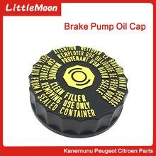 LittleMoon Brand New Genuine Brake Pump Oil Cap Cover 464334 1613328880 For Peugeot 206 207 307 508 408 308 308SW Citroen C2 C5