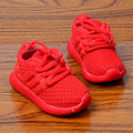 15% Children casual Fashion Kids Boys Girls Shoes Sport Running net Shoes red&black Baby  Shoes 21-30 for 1-6year