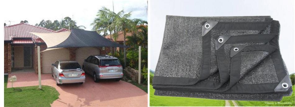 5x2m Sunscreen Breathable Mesh, Sun Screen.shading Net.car Protective Sunscreen.