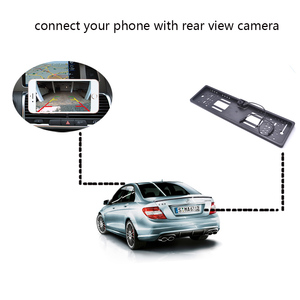 Image 5 - OTERLEEK WIFI License Plate Rear View Camera Wifi Back Up Camera for ipad  for iPhone Android and Car GPS