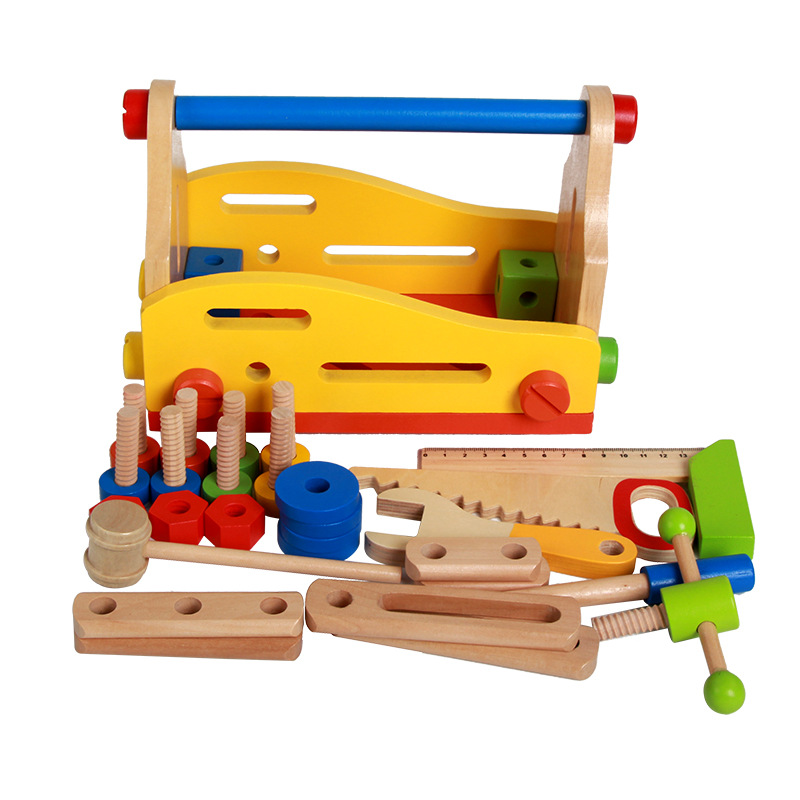 New Arrival Children Toolbox Boy Toys Puzzle Simulation Repairs Demolition Assembly Force Nut Repair Tool Sets Baby Suit