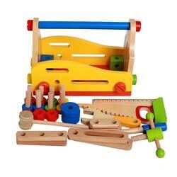 Новое поступление детей Toolbox мальчик игрушки головоломки моделирование ремонт снос сборки силы гайка ремонт наборы инструментов