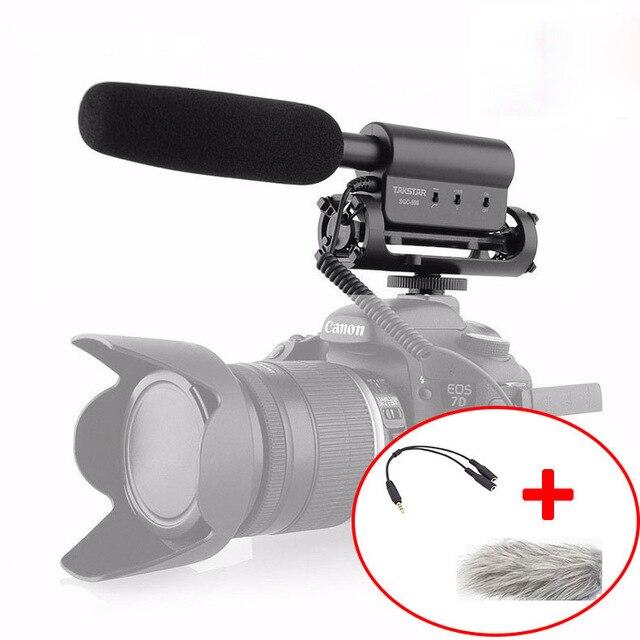 Takstar SGC-598 Vidéo Micros Entretien Micro pour Nikon Canon DSLR Caméras DV Caméscope pour Vidéaste Sony