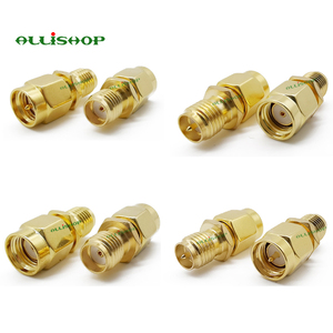 Image 3 - 18Pcs SMA Connector Kits Adapter SMA RP SMA Male and Female RF Coax Coupling Nut Converter For WIFI Antenna Extension Cable