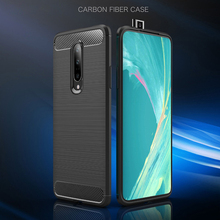 For One Plus 7 Pro Case Silicone Armor Bumper Shockproof Cover Phone Luxury Back Case For One Plus 7 Pro Fitted Case