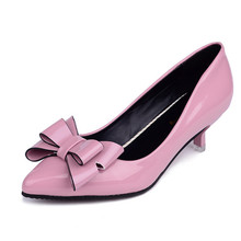 2017 New women's Single Shoes Fashion Bow With Shallow Bow Decorated Shoes .SSH-007
