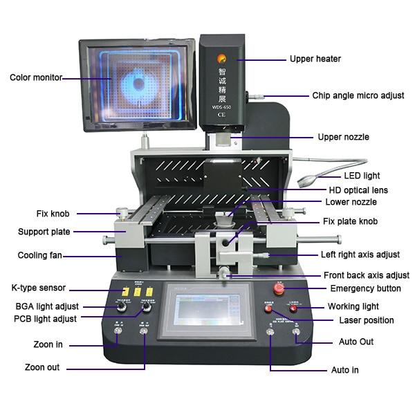 Aggressiv Wds-650 Iphone Icloud Entfernen Maschine Für Xbox One/laptop/iphone/xiaomi Motherboard Reparatur Modern Und Elegant In Mode