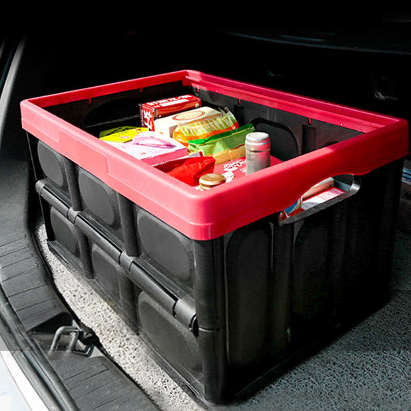 Car Organizer Trunk Storage Box Large Capacity Folding Auto Trucks Box / Bag  Stowing Tidying Car Accessories