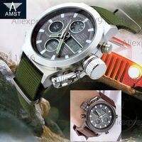 Autêntico AMST Relógios Venda Quente 20 pçs/lote Relógio Multifuncional Dupla Afixação Dos Homens da Qualidade Superior Relógio Do Esporte Por Atacado