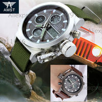 Authentic AMST Watches Hot Sale 20pcs Lot Men Watch Multifunction Dual Display Top Quality Sport Watch