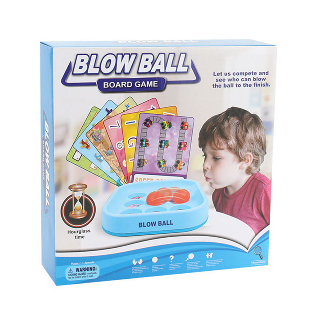 Doll Children Blow Ball Battle Game Unisex Kids Toy No-toxic Plastic Mini Educational Gift Kids Bubble Fashion