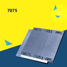 7075 Aluminium Alloy Sheet Plate DIY Hardware Aluminium Board Thicked Super hard Block Free Shipping cheap Electrical 7075 aluminum