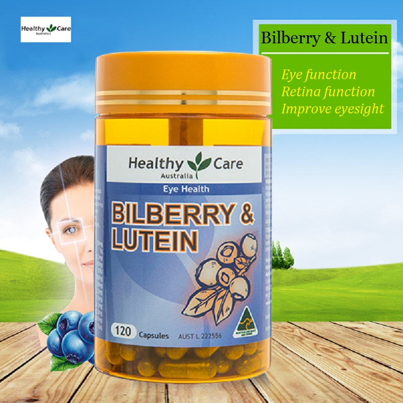 HC Bilberry Lutein antioxidant to maintain healthy eye function &vision, capillaries health, peripheral blood circulation
