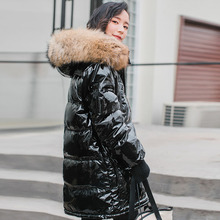 Winter Jacket Women Long Parka Thick Duck Down Jack