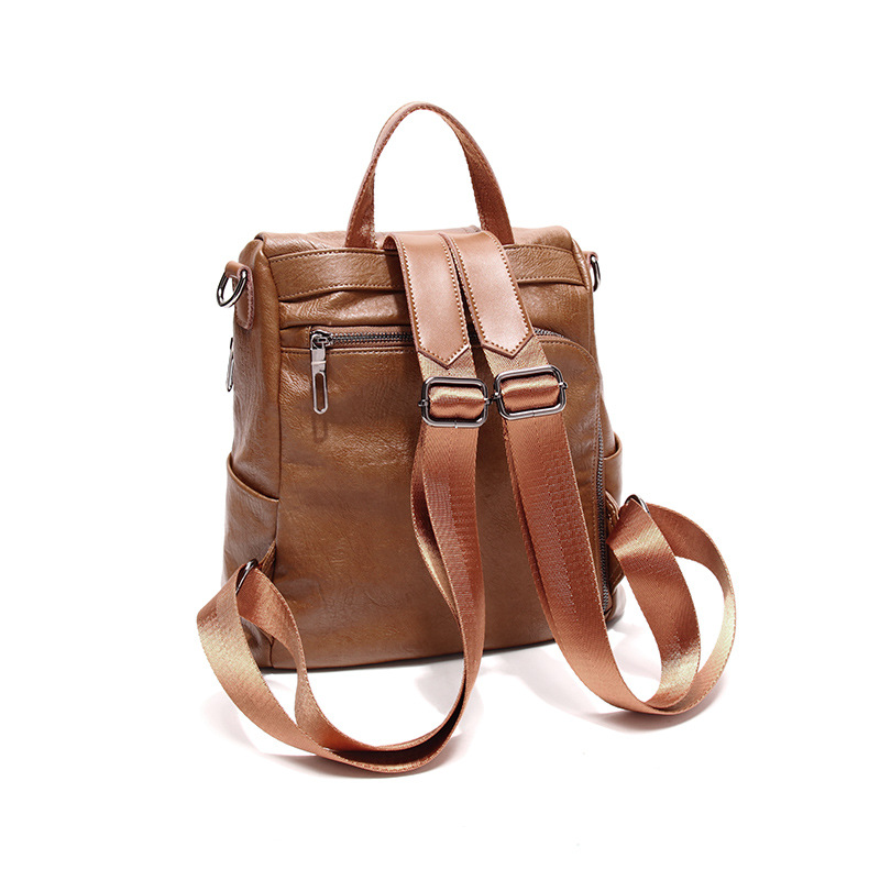 Fashion Causel Women Backpacks Womens PU Leather Backpacks Female school Shoulder bags for teenage girls Travel Back pack