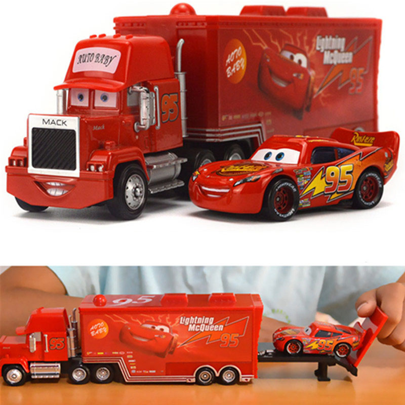 Disney Hot Sales Pixar Cars 2pcs Lightning McQueen...