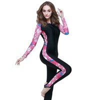 New Comfort Swimming Cloth Women Men Spearfishing Surfing Diving Swimming Wetsuit Long Sleeve Wear Swimming