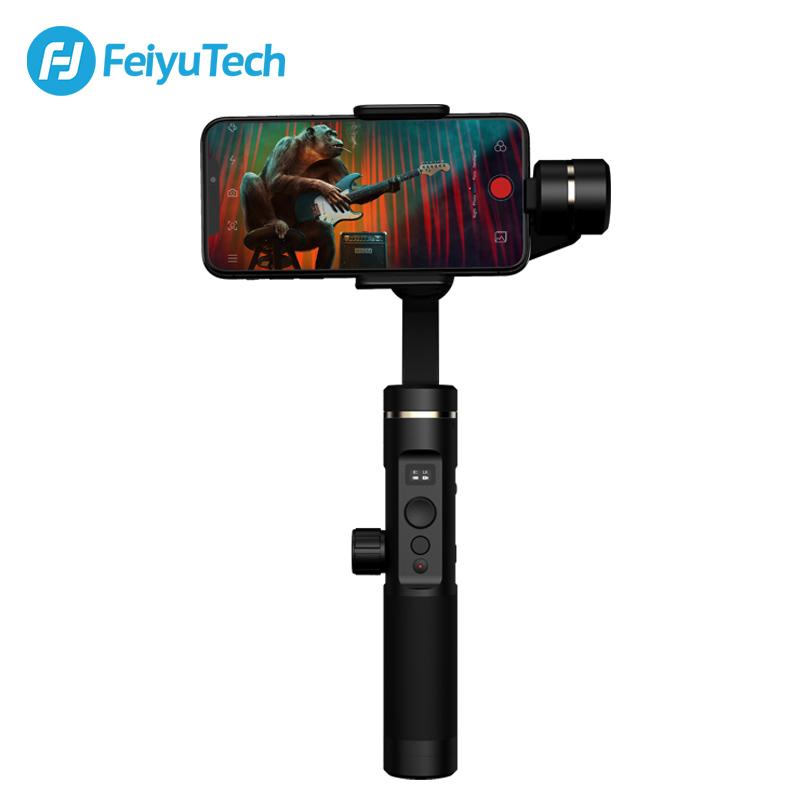 FeiyuTech SPG2 Cardan 3-Axes De Poche Stabilisateur pour Smartphone iPhone X 8 7 OPPO Samsung ViVO téléphones Smartphone Splash -preuve