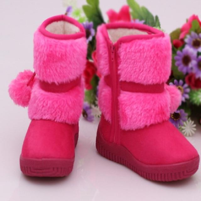 various colors 38b97 28729 Neue winter kinder schuh baby mädchen schnee stiefel winterstiefel warme  schuhe fit für 1 bis 18 jahre alt 846