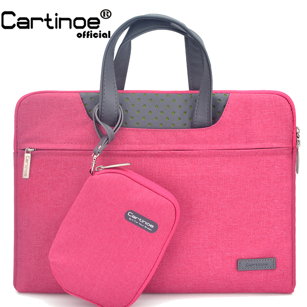 newest 5dfec 5f5d6 US $23.43 47% OFF|Business Laptop Sleeve Bag 12 14 15.6 inch Laptop  Carrying Case for Macbook air 13 TouchBar 13 pro 15 Protective bag Men  Woman-in ...