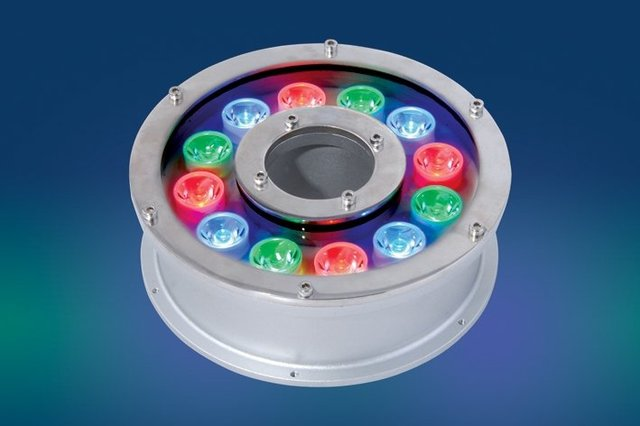 12*1W LED Underwater Light;DMX512 compatible;DC24V input;IP68;Stainless steel housing;please advise the color you need