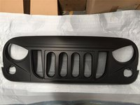 1 Pc J215 Front Matte Black 2007 2017 Transformer Grille Grid Grill With Mesh Insert For