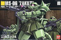 Bandai HGUC 40 MS-06 Zaku II Gundam Model Kits Assembled Model Huge Model scale model