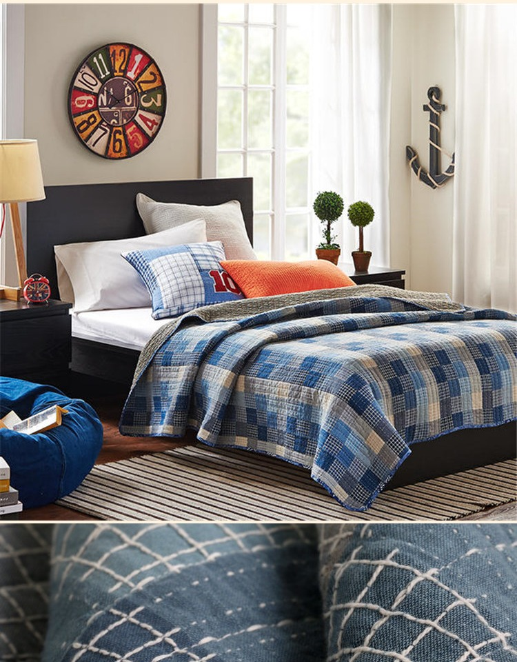New Cotton Quilted Blanket Spring Autumn Blanket Multifunctional Throw Blankets siesta travel sofa blanket Mattress Bedspread