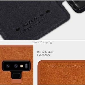 Image 5 - Fall Für Samsung Galaxy Note 9 NILLKIN Qin Serie Flip Abdeckung Fall Für Samsung Hinweis 9 Note9 Buch Flip PU leder Fall