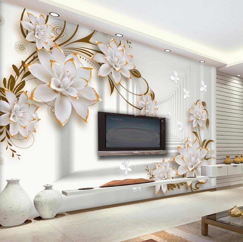 Beibehang Custom Wallpaper Home Decorative Wall Modern ...