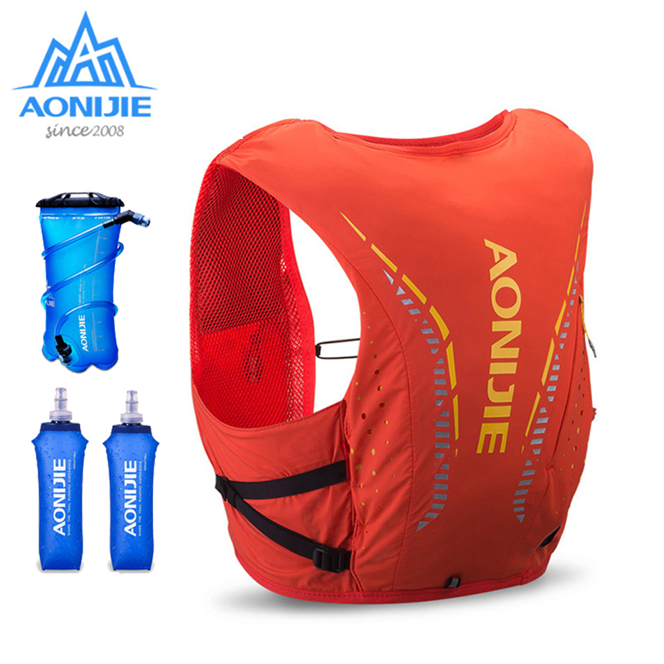 AONIJIE 10L Sports Backpack Hydration Pack Rucksack Bag Vest Harness Water Bladder for Hiking Camping Running