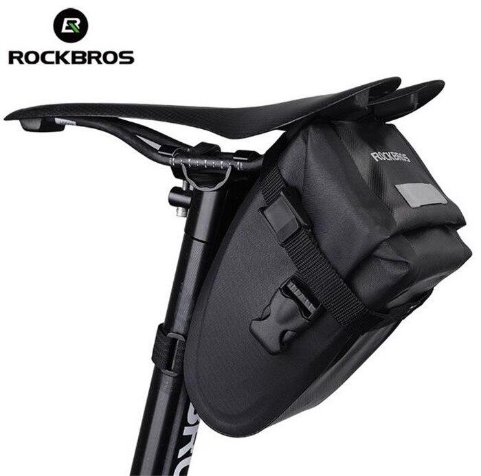 ROCKBROS Vélo Selle Queue Arrière Siège Sacs De Rangement Étanche VTT Vélo Vélo Accessoires Haute Capacité Réfléchissant Sac dans Sacs de vélos et sacoches de Sports et loisirs