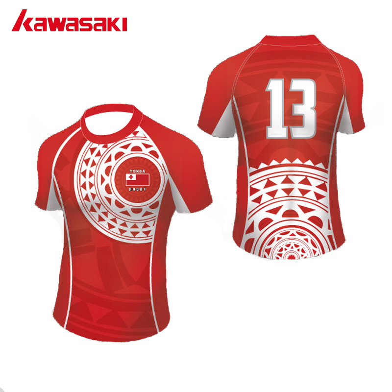 24f01546e97 2017 Kawasaki Brand Practice Rugby Jersey Men & Women Top Sublimation  Custom Fans Exercise Quick Dry Sprots Team wear Shorts. US $23.62