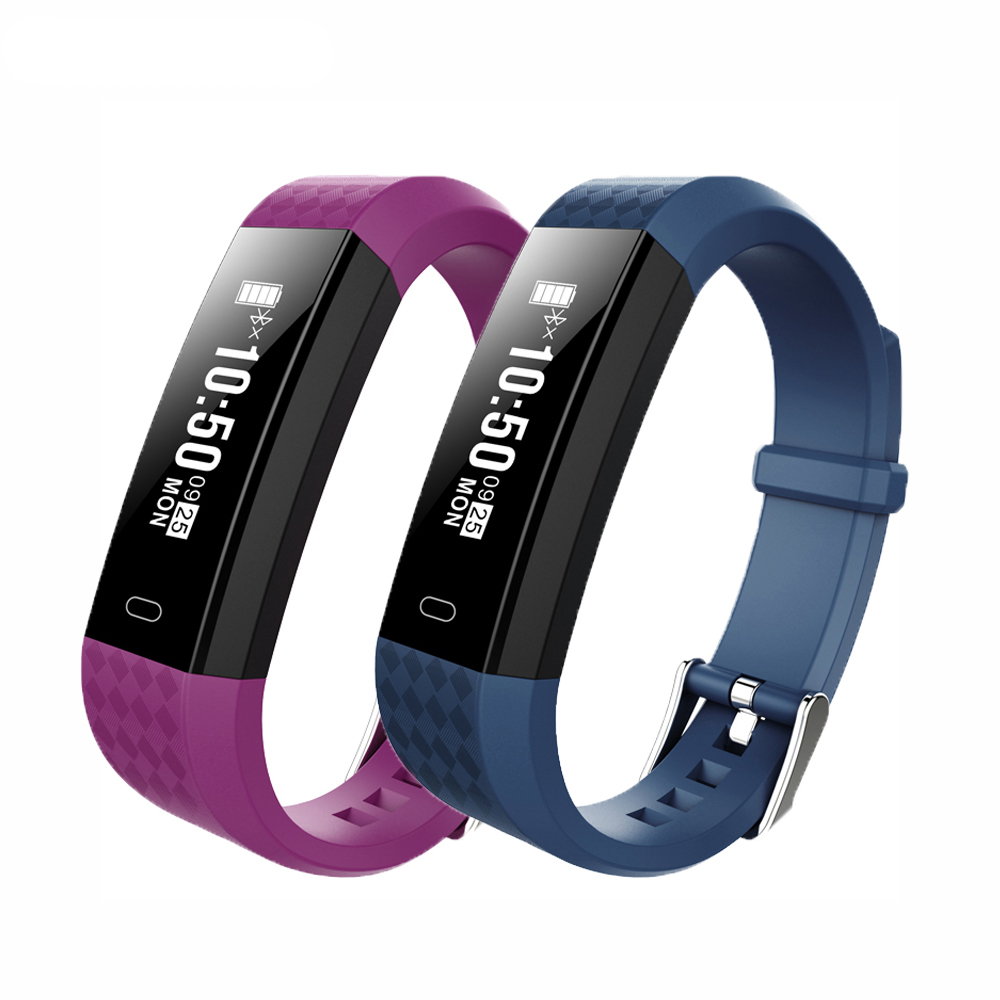 COXANG ID115 Fitness Bracelet Heart reate monitor Smart Band Activity tracker Message reminder For Android IOS Apple Phones