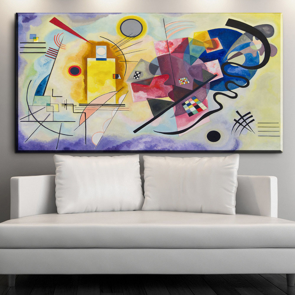 xdr603 Wassily Kandinsky Painting DIY frame art posters Print Canvas ...