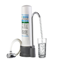 Household water purifiers direct drinking tap water faucet benchtop filter white transparent ceramic water filters D237