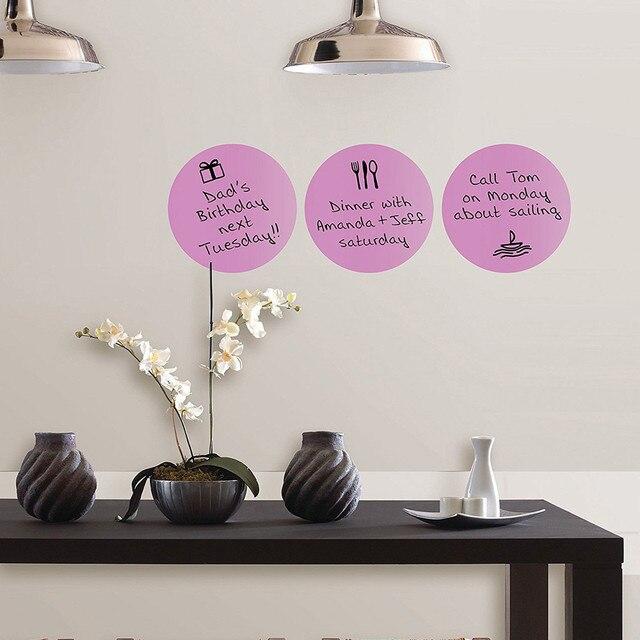 3pcs Poster DIY Reminder Home Decor Wall Sticker Peel U0026 Stick Calypso  Dry Erase Dots